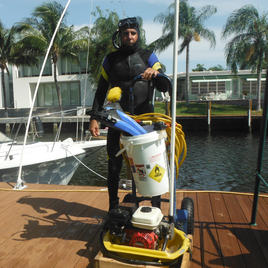Ship Cleaning Services : Dive service i boat hull cleaning south florida a